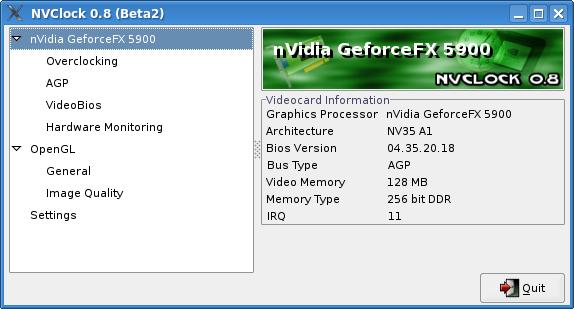 NVClock - Nvidia overclocking on Linux!